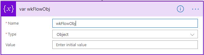variable wkFlowObj